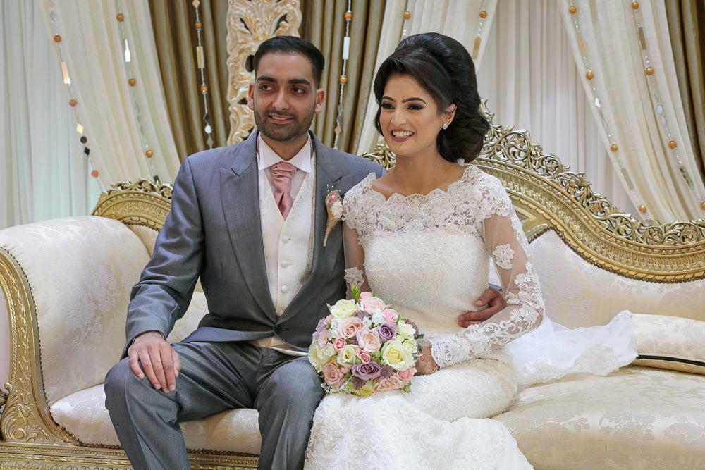 Muslim Groom with his Bride.