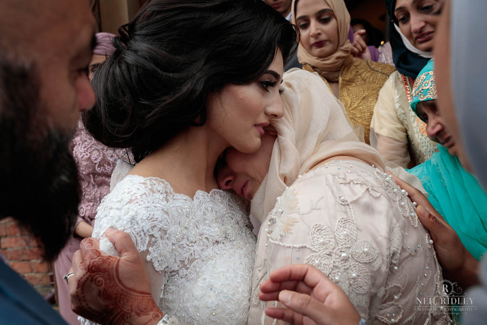 Muslim Bride and her Mother