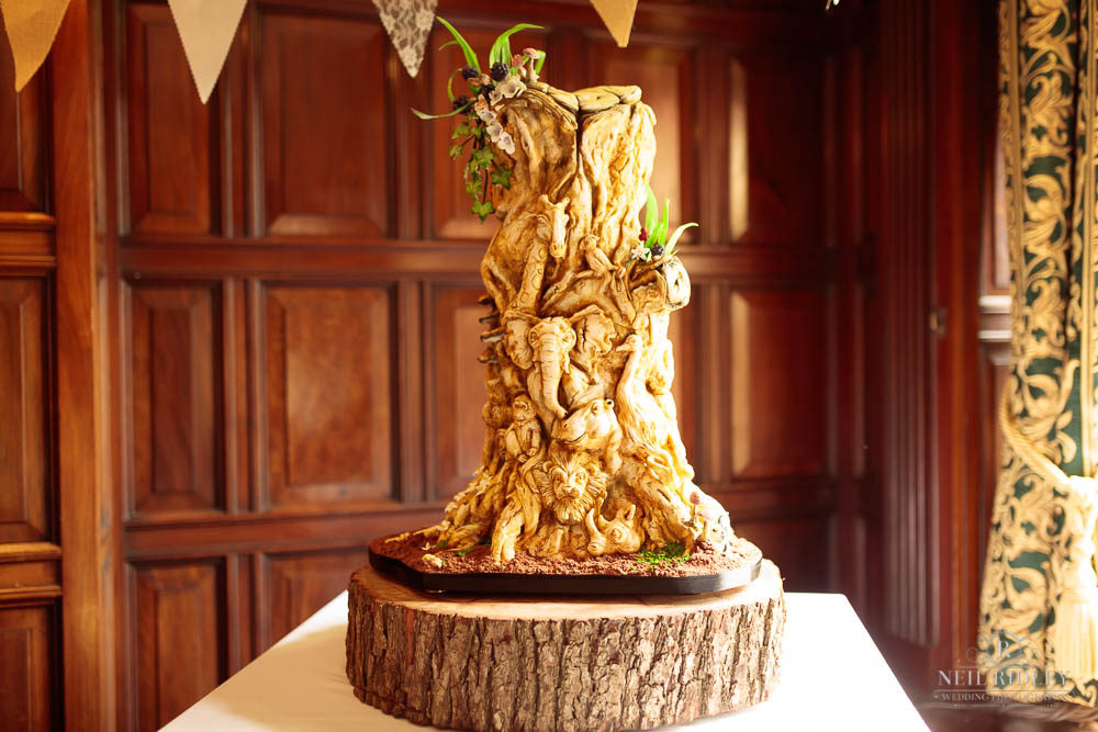 wedding Cake at Chester Zoo