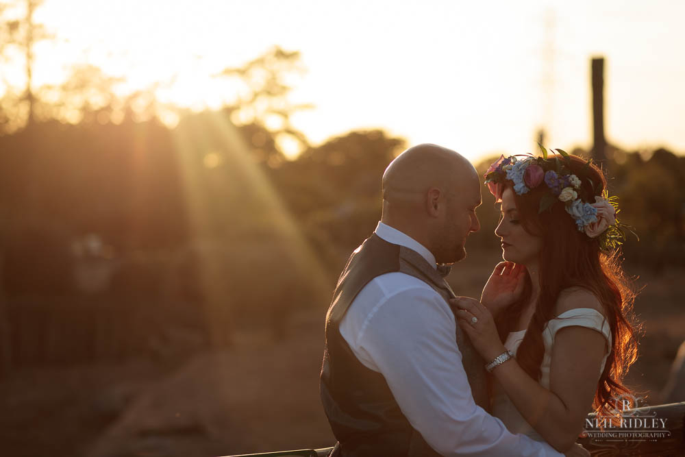 Bride and Groom at Chester Zoo