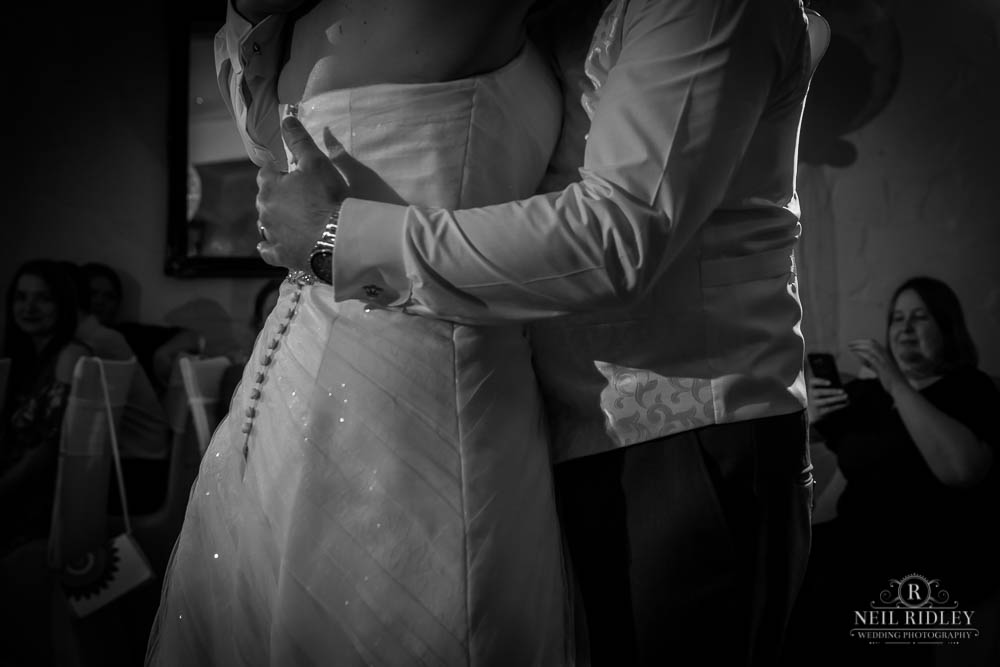 Bride and Groom at First Dance