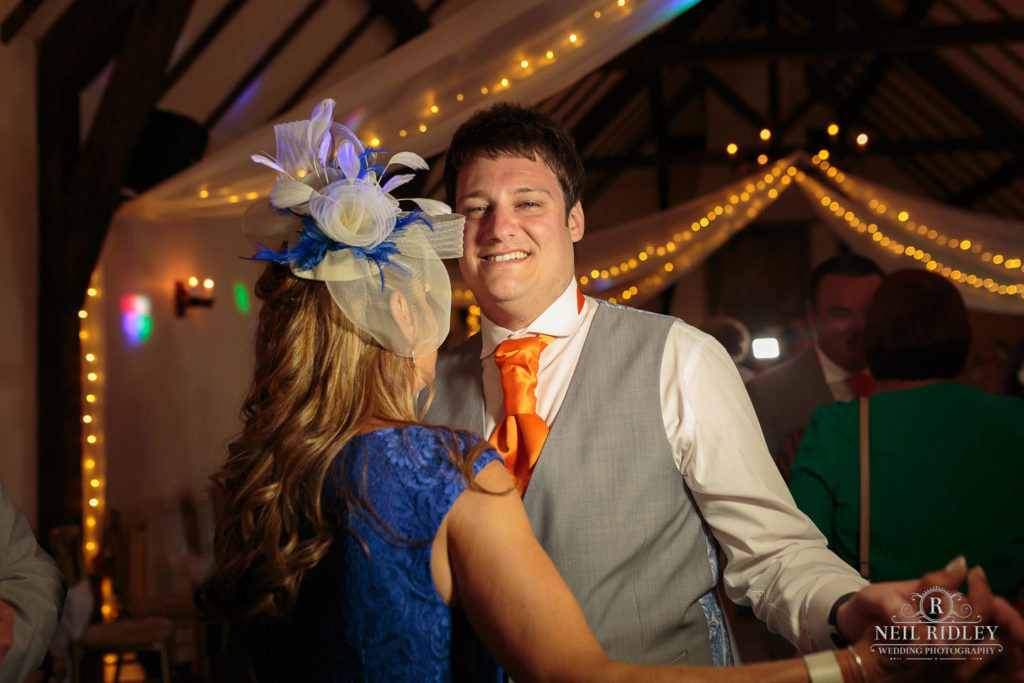 Groom Dances with his mother at The Great Hall at Mains