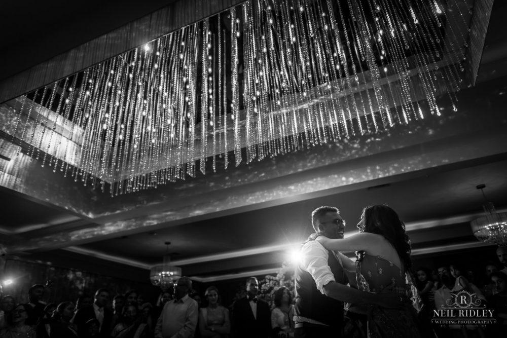 Merrydale Manor Wedding Photographer - Bride and Groom dancing