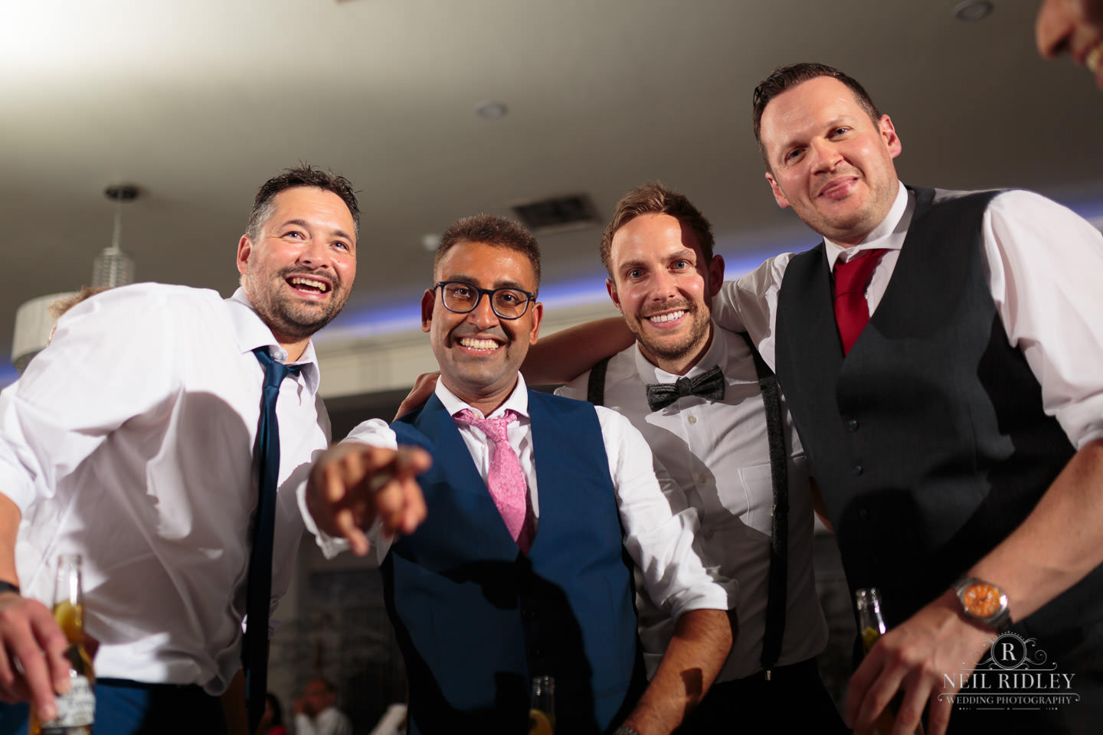 Merrydale Manor Wedding Photographer - Groom and Groomsmen