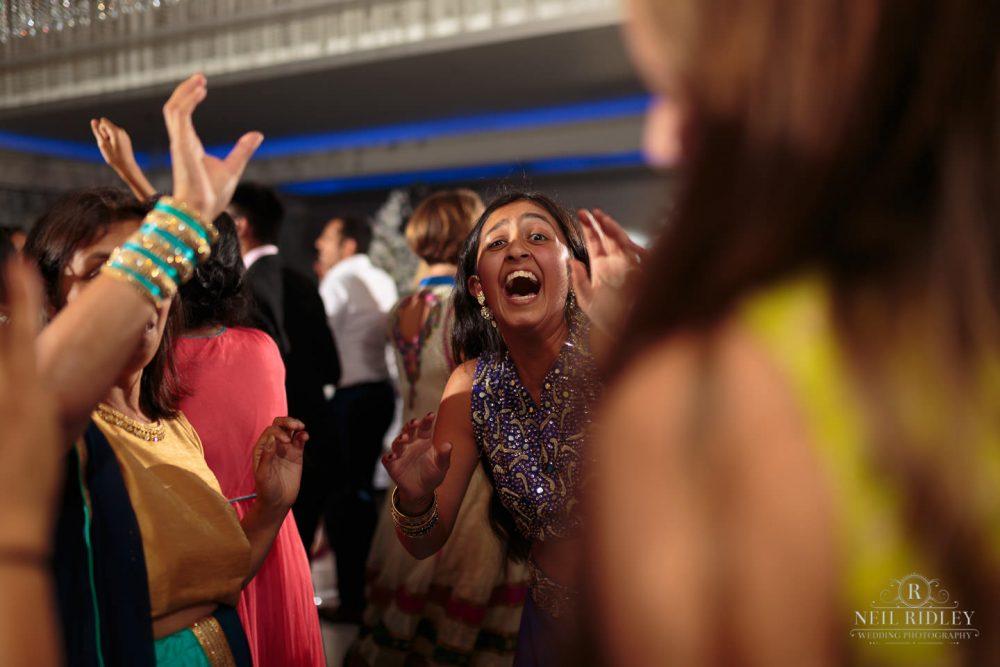Merrydale Manor Wedding Photographer - Wedding guest dancing