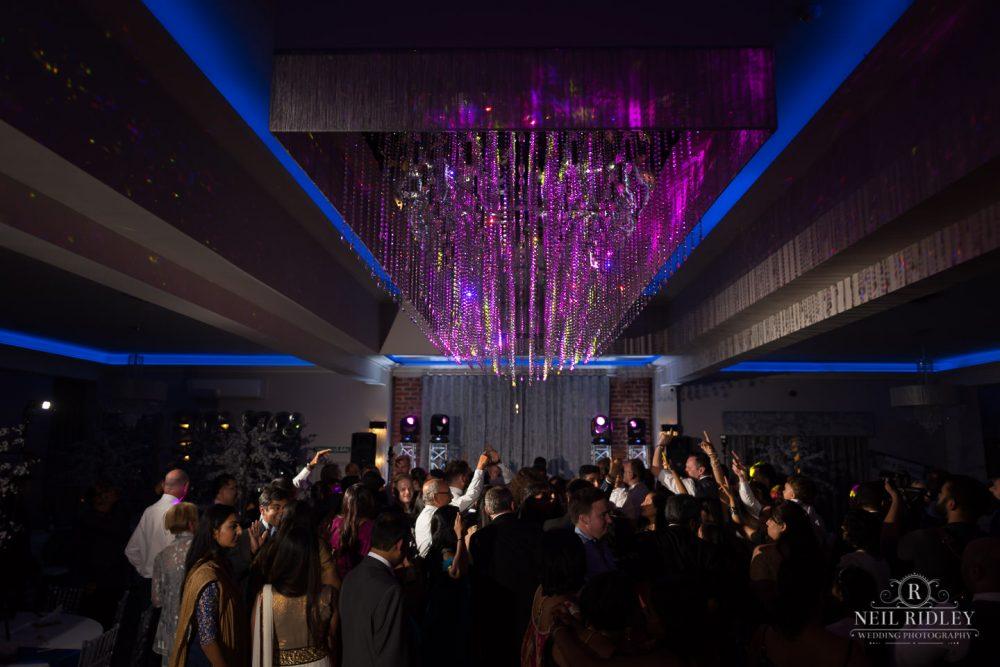 Merrydale Manor Wedding Photographer - Full dancefloor