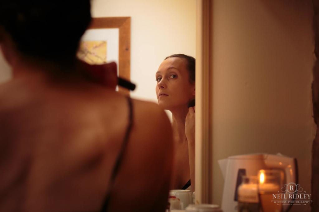 Beeston Manor Wedding Photographer - Bridal Make Up