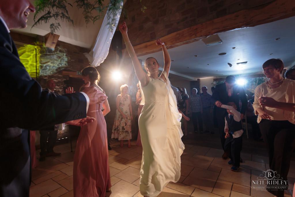Beeston Manor Wedding Photographer - Bride Dancing