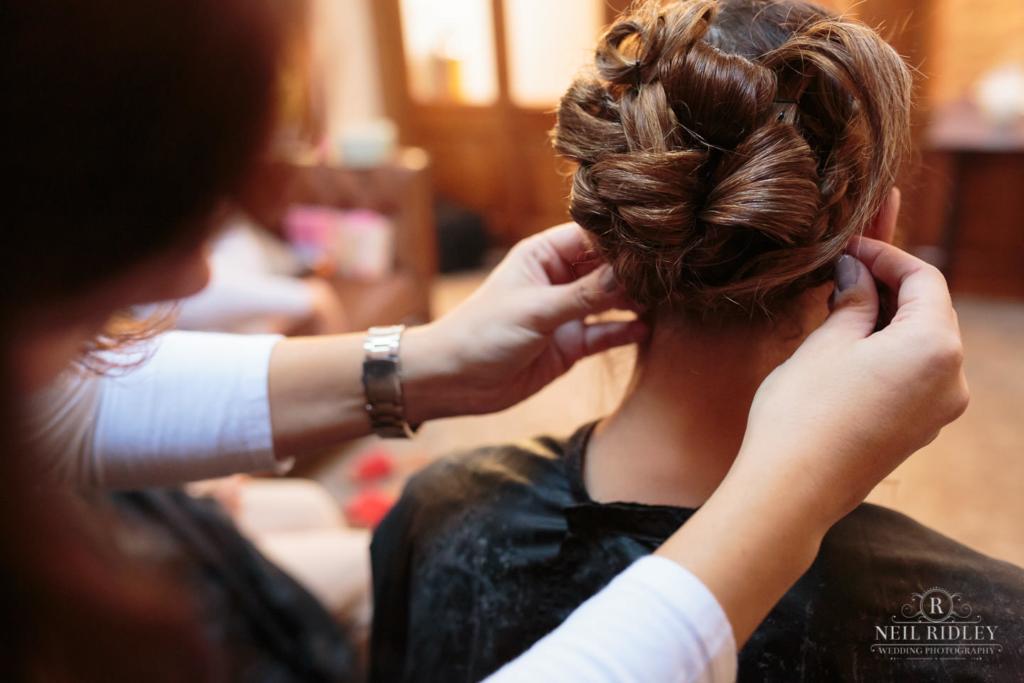 Beeston Manor Wedding Photographer Hair and Makeup