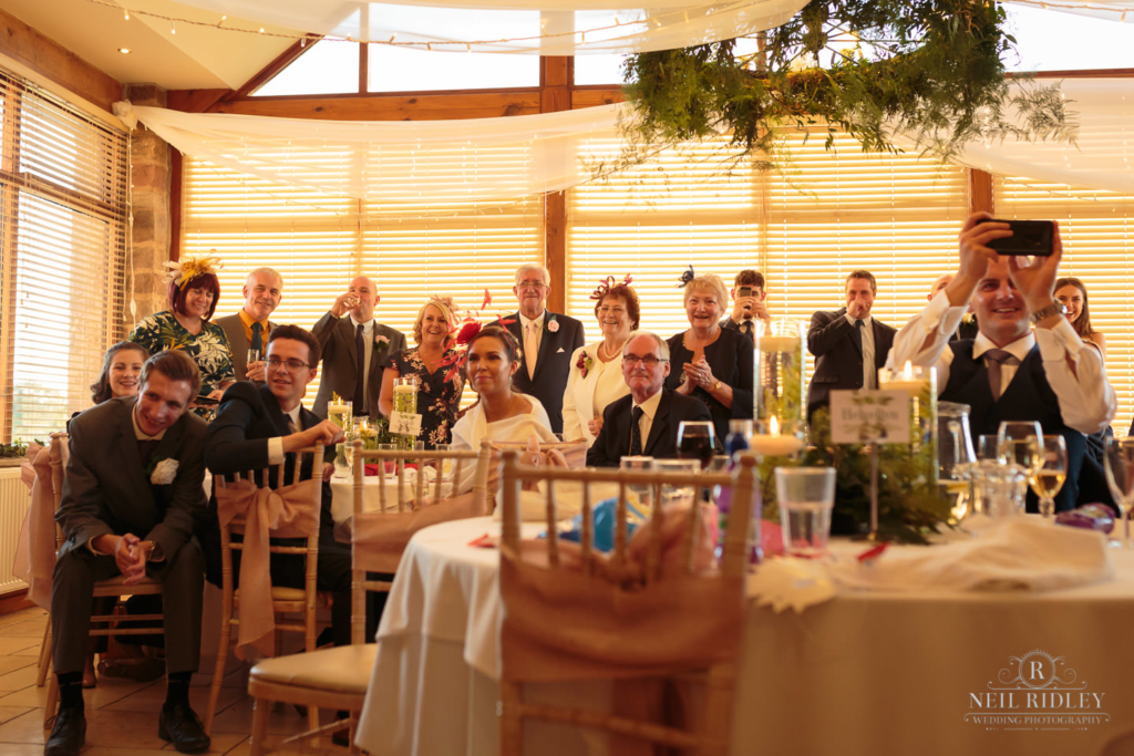 Beeston Manor Wedding Photographer - Audience