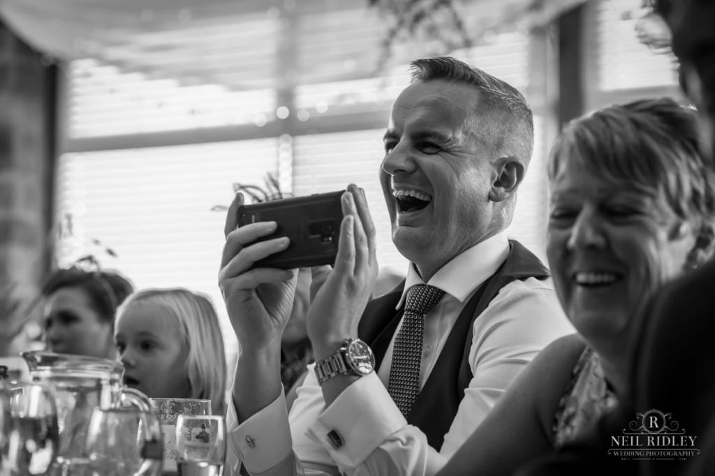 Beeston Manor Wedding Photographer - Speec Reaction